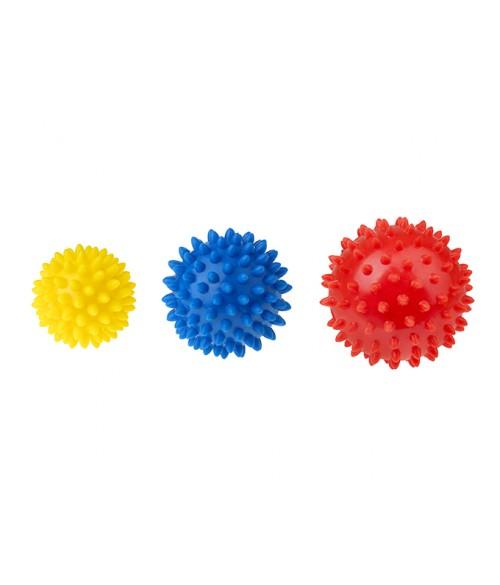 Masāžas bumbu komplekts  (3 gab.) TULLO-406