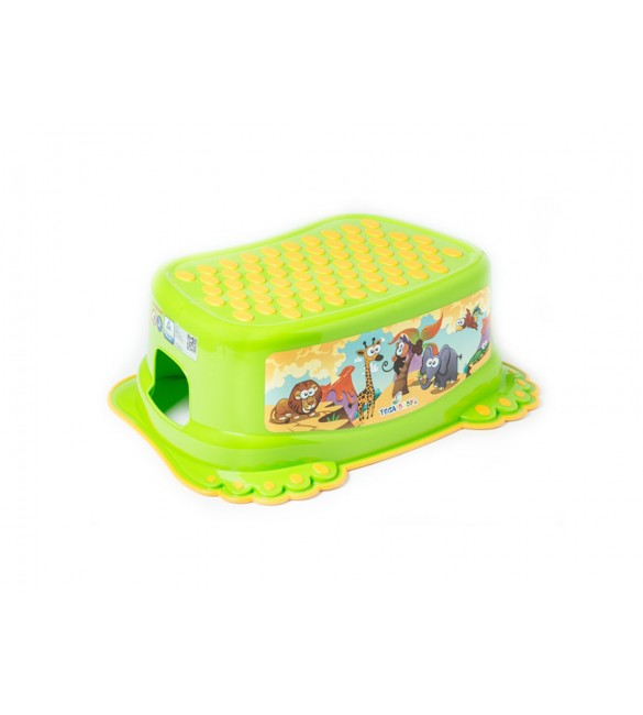 Pakāpiens-step SAFARI green Tega Baby SF-013