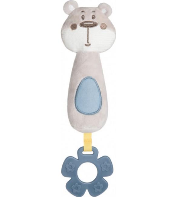 Plīša rotaļlieta ar pīkstuli PASTEL FRIENDS Canpol 68/068grey
