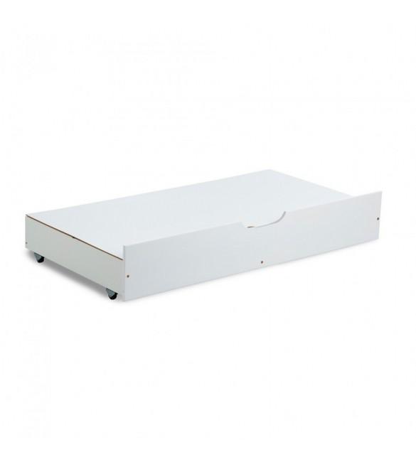 Kaste gultas veļai (zem gultas)  balta 120x60, Klups