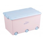 mantu kaste RABBITS light pink (52l)  Tega Baby KR-010