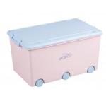 mantu kaste RABBITS light pink (52l)  Tega Baby KR-010