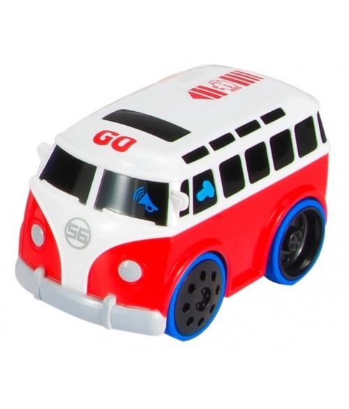 Interaktīvais autobuss ar dzinēja skaņu B12.034.1.1 SunBaby