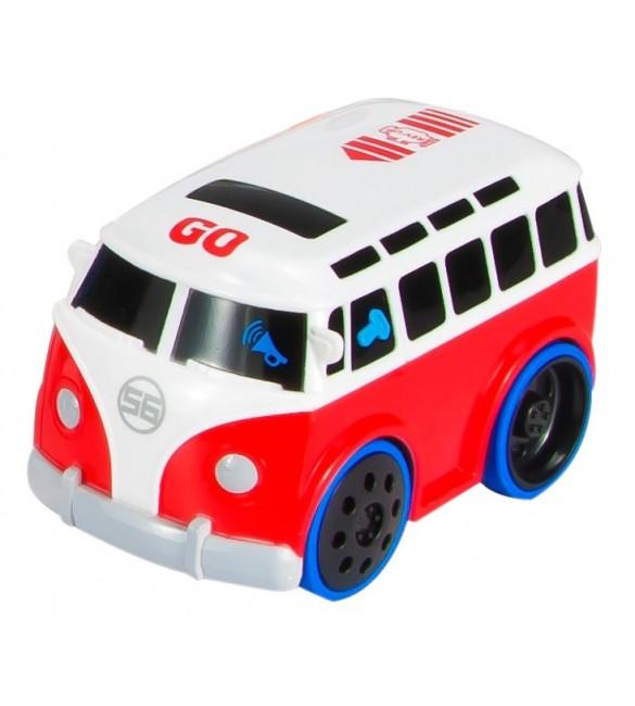 Interaktīvais autobuss ar dzinēja skaņu B12.034.1.1 SunBaby [NY]
