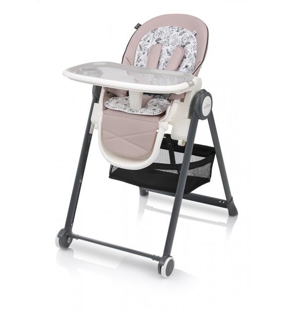 PENNE 08 pink  (ar mīksto ieliktni un guļampoziciju)  Baby Design