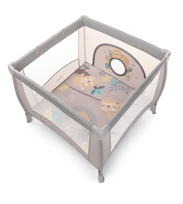 "PLAY UP ""Sloth"" beige 09, Baby Design  106x106 cm"