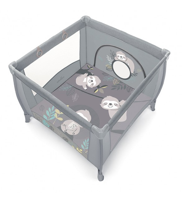 "PLAY UP ""Sloth"" grey 07, Baby Design  106x106 cm"