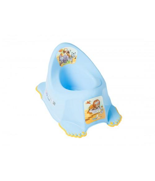 Podiņš neslīdošs, muzikālais  SAFARI blue Tega Baby PO-045
