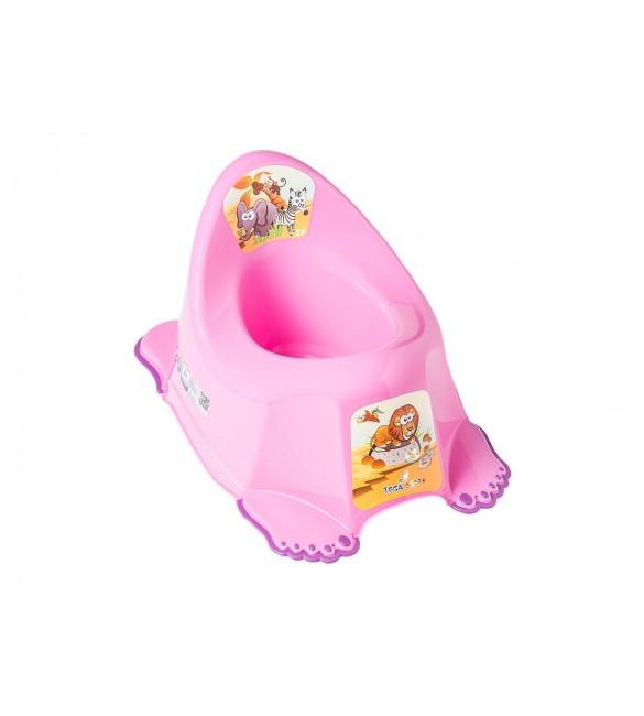 Podiņš muzikālais  SAFARI  dark pink  Tega Baby PO-045