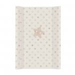 Pārtinamais dēlis Comfort  STARS beige 50x70 cm Ceba Baby (203)