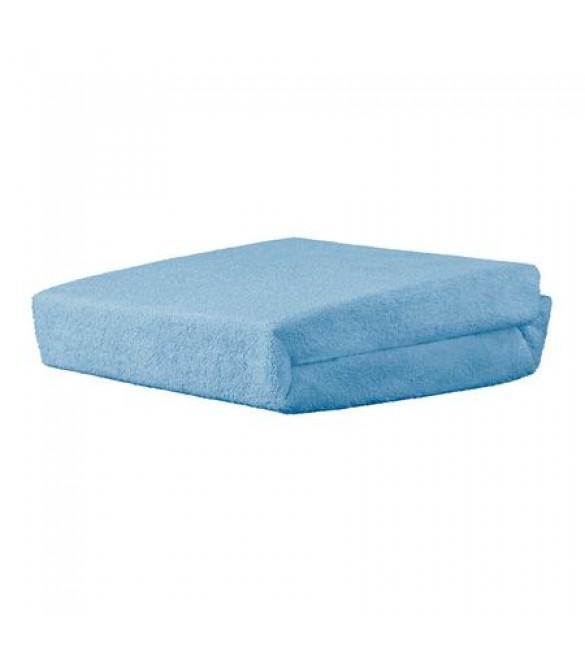 FROTĒ palags ar gumiju 120x60 cm AKUKU A1152 blue