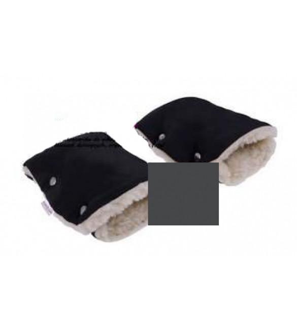 Ratiņu cimdi ar aitas vilnu CAM143 graphite