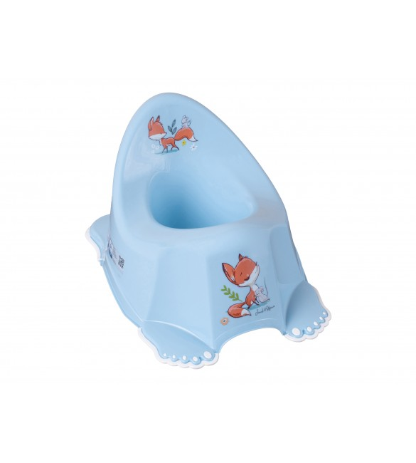Podiņš neslīdošs FOREST FAIRYTALE light blue TegaBaby FF-001