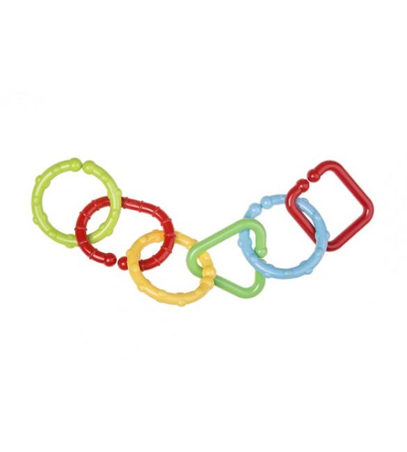 Rotaļlieta-rinkīši (savienojamie) 6 gab. Tullo-089