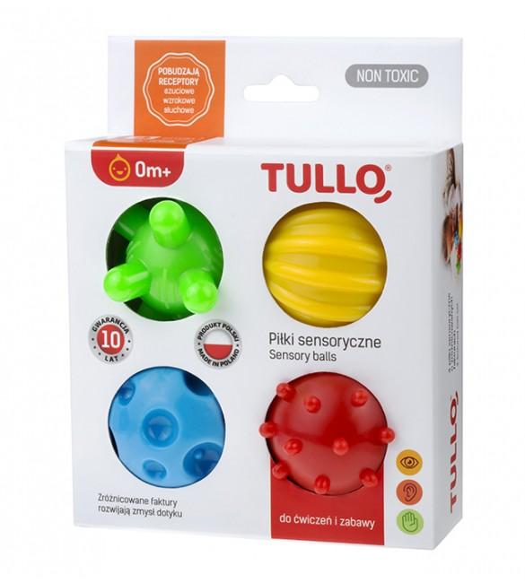 Masāžas-sensoru bumbu komplekts (4 gab.) Tullo-459