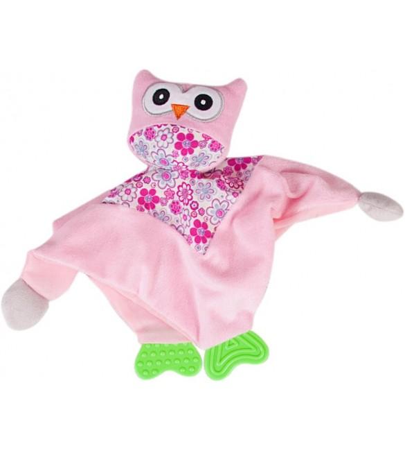 Miega lupatiņa (mīļlupatiņa ) PŪCE rozā SunBaby B11.016.1.1