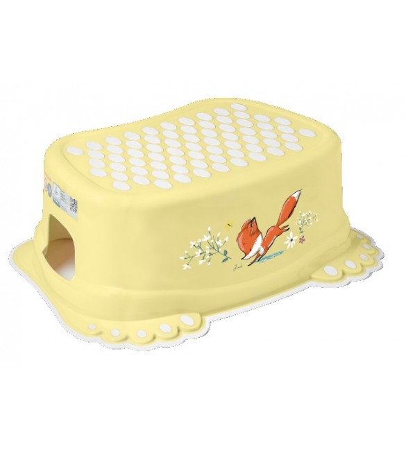 Pakāpiens-step  FOREST FAIRYTALE light yellow Tega Baby FF-006