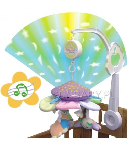 Muzikālais karuselis ar projektoru SUN BABY 2891