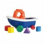"""Loģiskā rotaļlieta """"Kuģītis' NINA 00037  (Polija)"""