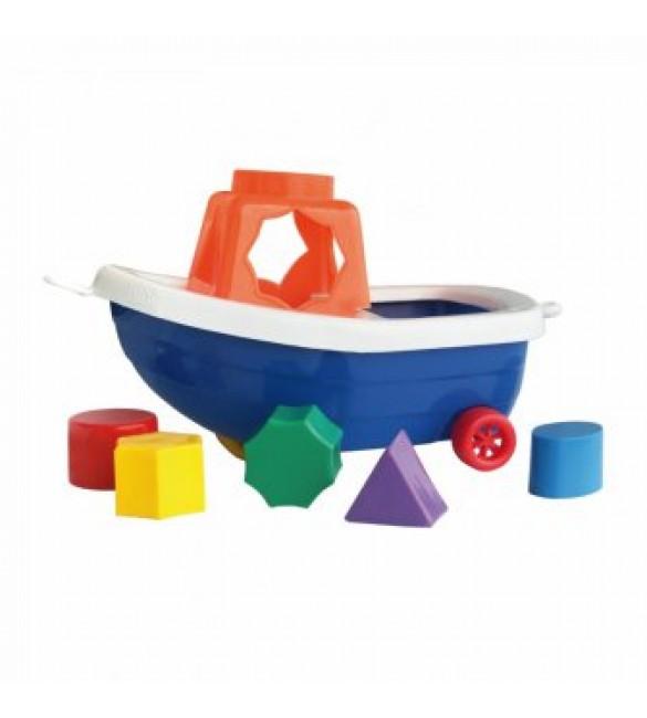 """Loģiskā rotaļlieta """"Kuģītis' 00037  (Polija)"""