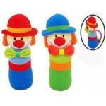 Mīksta rotaļlieta ar pīkstuli KLAUNS 9996-izpārdošana