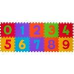 paklājiņš-puzzle Cipari 274 /10 plāksnes  Babyono