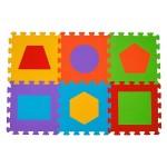 paklājiņš-puzzle Figūras - 6 plāksnes  Babyono 279