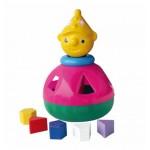 """Loģiskā rotaļlieta-sortieris """"KLAUNS"""" NINA 00026  (Polija)"""