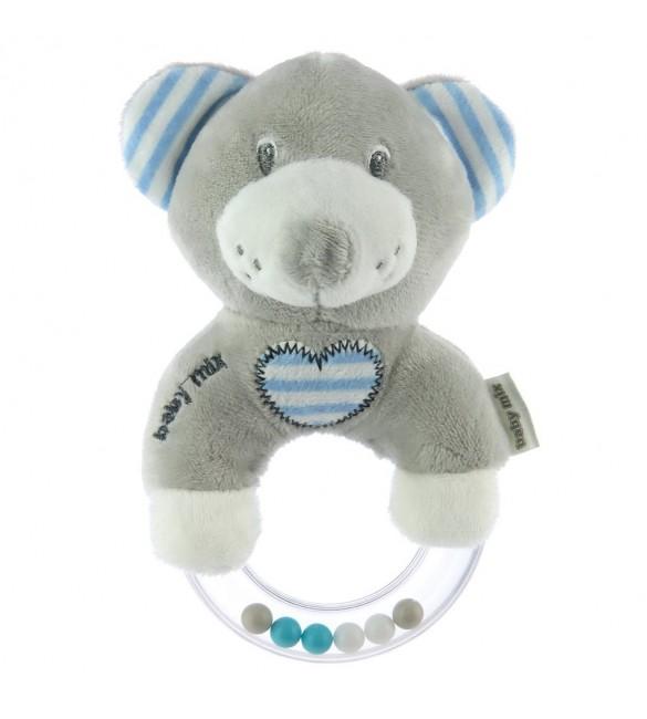 Plīša grabulis BLUE BEAR BabyMix 41551