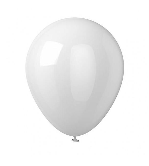 Gaisa balons 1 gb. WHITE ø26 cm 43046