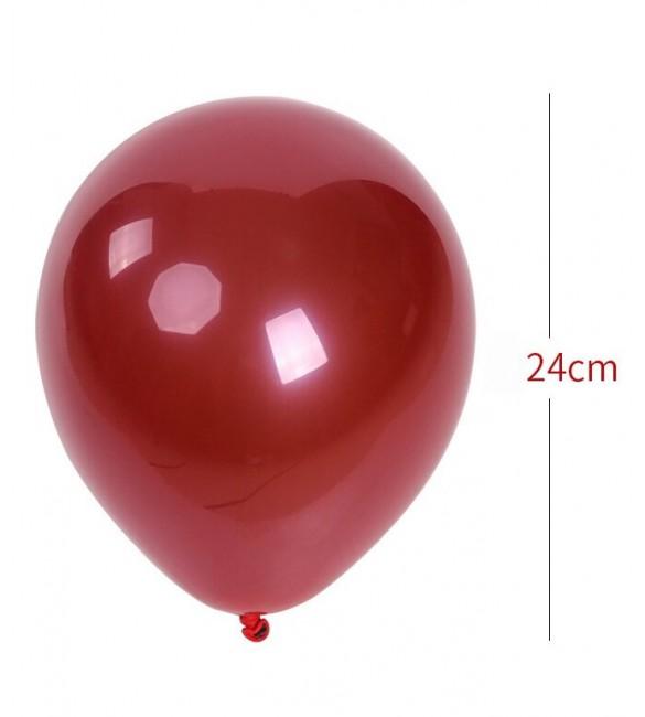 Gaisa balons 1 gb. RED ø24cm 43763