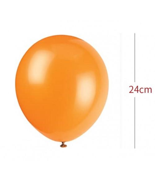 Gaisa balons 1 gb. ORANGE ø24cm 43831