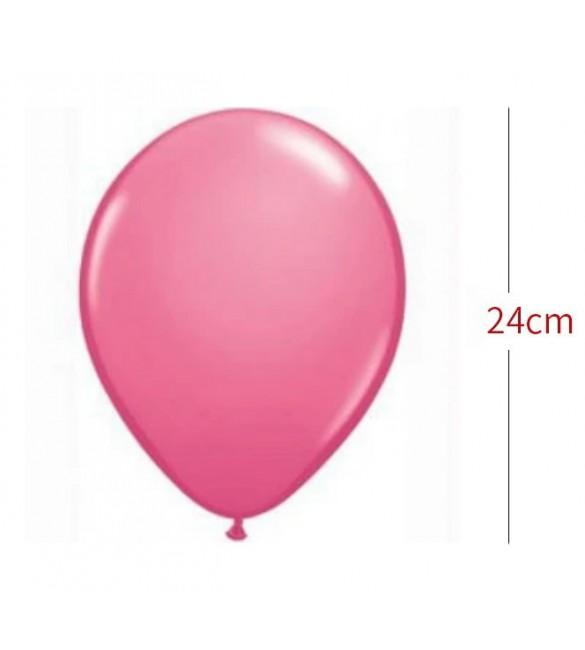 Gaisa balons 1 gb. PINK ø24cm 43848