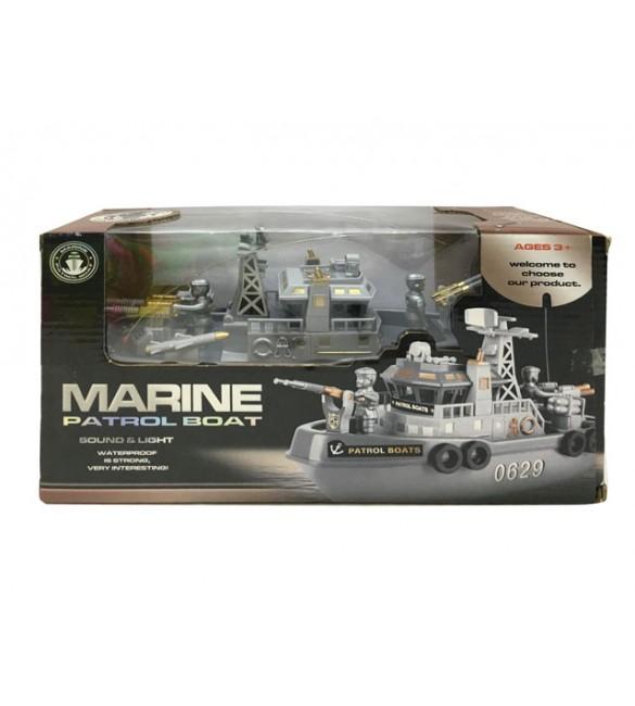 Armijas laiva 26 cm ar pulti 7120691