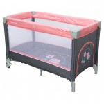 Ceļojumu gulta SPARROWS 8052-186 pink (33204)