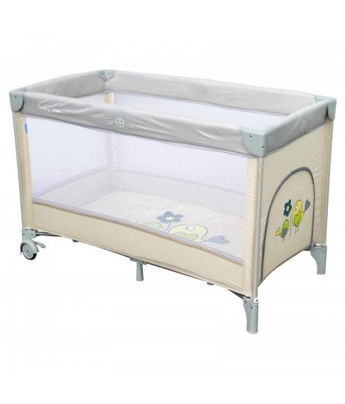Ceļojumu gulta SPARROWS 8052-187 beige BabyMix