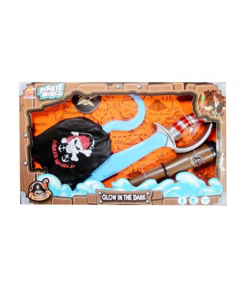 Pirāta komplekts ar aksesuāriem B738