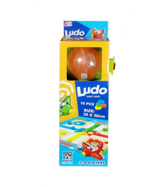 "Galda spēle ""LUDO""  10x27x7cm G2449"