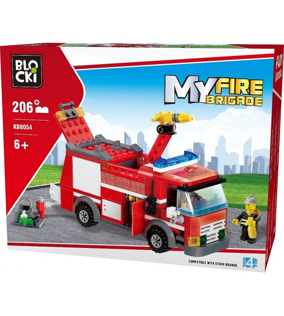 Kluči MyFireBrigade Ugunsdzēsēju mašīna 206 el. KB8054