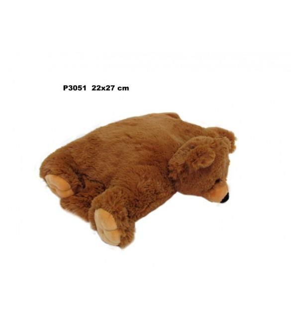 Spilvens-rotaļlieta LĀCIS 28 cm P3051 Sandy