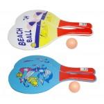 Raketes ar bumbiņu BEACH BALL Q6395