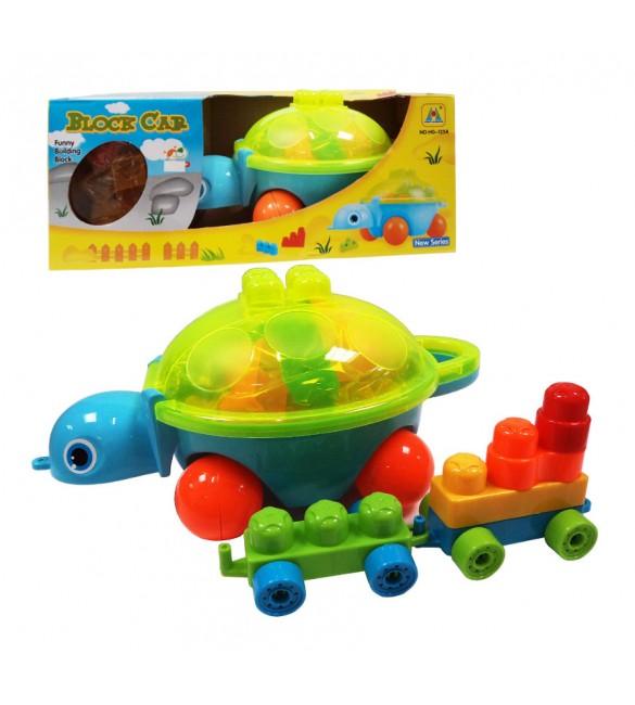 Bruņurupucis  ar klučiem Q916/9153