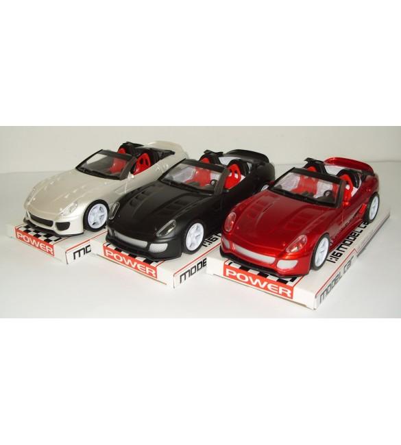 Sporta mašīna-kabriolets (friction) 27x12x10cm SACV888-4A