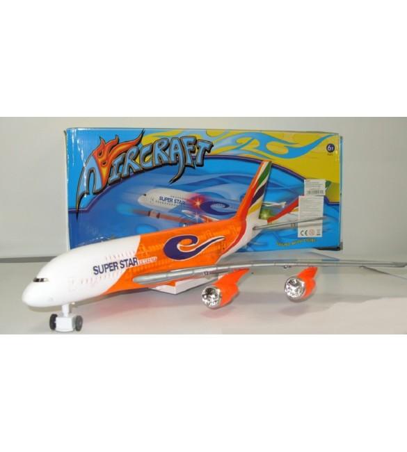 Lidmašīna ar skaņām,gaismām 58x25 cm TAA386B