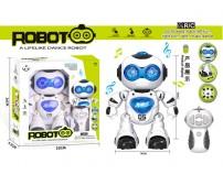 Robots ar  tālvadības pulti, mūziku, gaismu 7160220