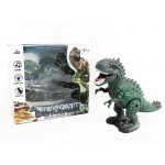 Dinozaurs staigājošs 22x21x10 cm ar skaņu, gaismu AD006557
