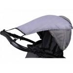 Saules aizsargs-nojume ratiņiem CAM114 grey