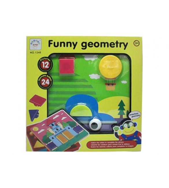 Rotaļlieta ģeometriskā 30x30 cm 7120765