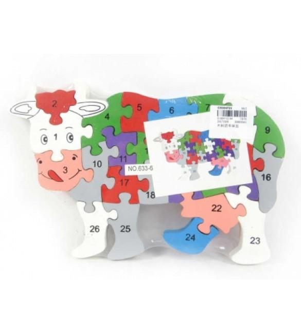 Koka puzle GOTIŅA 25x16 cm CK004721
