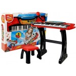 Klavieres ar statīvu un krēsliņu, 37 taustiņi 54253